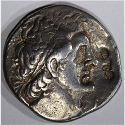 285-246 BC PTOLEMY II SILVER EGYPT COIN