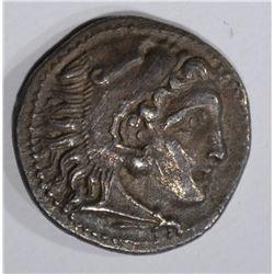 319-315 BC GREEK MACEDON SILVER DRACHM