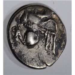 411-385 BC GREEK ABDERA SILVER COIN