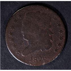 1826 CLASSIC HEAD HALF CENT, GOOD