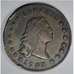 1795 FLOWING HAIR SILVER DOLLAR  XF