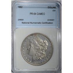 1882 MORGAN DOLLAR  NNC CH BU
