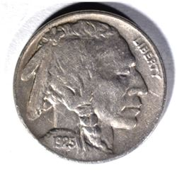 1925 BUFFALO NICKEL, BU