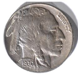 1930-S BUFFALO NICKEL CHBU