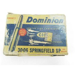 ASSORTED 30-06 SPRG AMMO