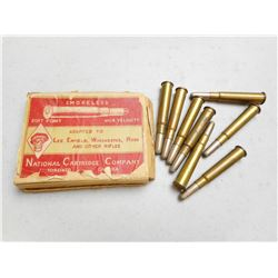 NATIONAL CARTRIDGE CO. 303 BRITISH AMMO