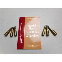 577/450 MARTINI HENRY AMMO & BOOK