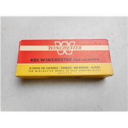 WINCHESTER 401 WSL AMMO