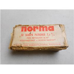 NORMA 7.5MM AMMO