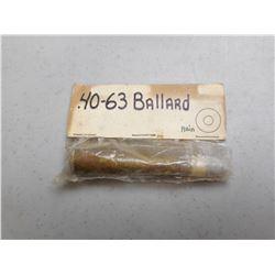 40-63 BALLARD AMMO