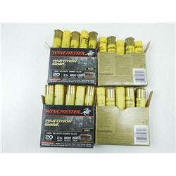 "REMINGTON & WINCHESTER 20 GA 2 3/4"" AMMO"