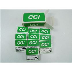 CCI NO 500 SMALL PISTOL PRIMERS