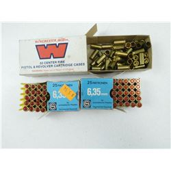 ASSORTED 25 AUTO (6.35 MM)  AMMO
