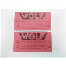 WOLF 45 ACP RELOADS