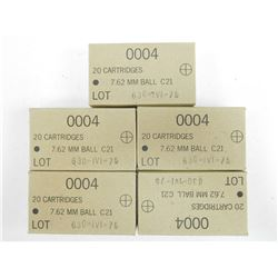 IVI 7.62 MM BALL AMMO