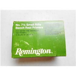 REMINGTON SMALL RIFLE PRIMERS