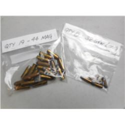 ASSORTED 44 MAG/ 32 S&W LONG AMMO