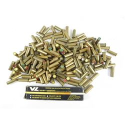 ASSORTED 357 MAGNUM BLANKS & CASELESS 22 AMMUNITION