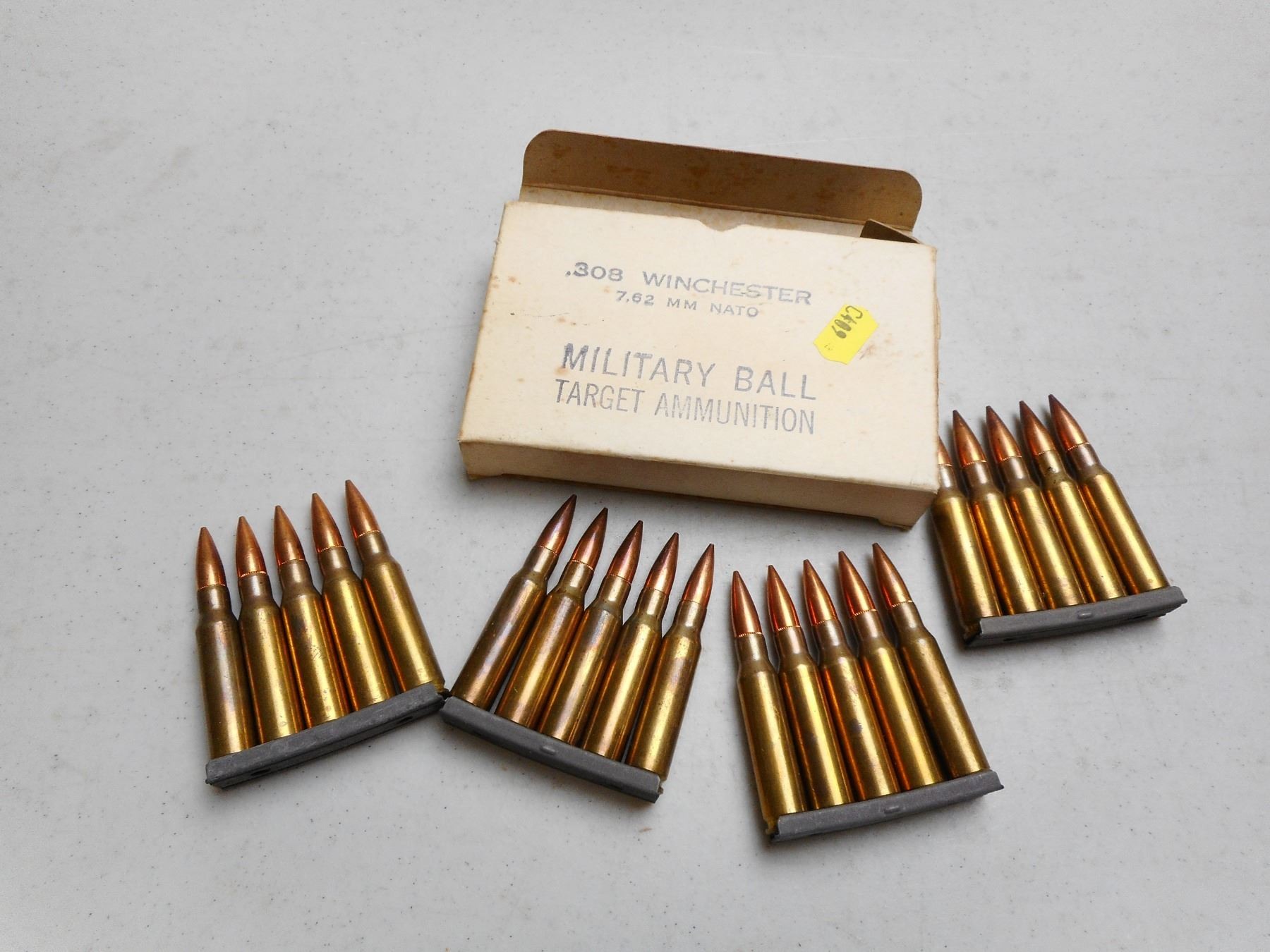 MILITARY SURPLUS 7 62MM NATO (308 WIN) AMMO