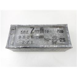 7.62 MM SARDINE TIN