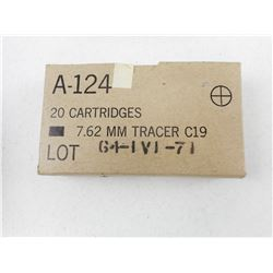 CANADIAN IVI 7.62 MM TRACER C19 AMMO
