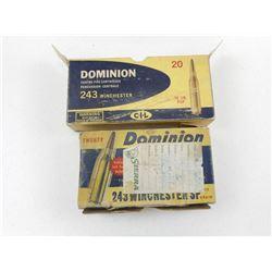 DOMINION 243 WIN BRASS