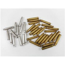 ASSORTED LARGE RIFLE BRASS