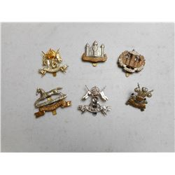 ASSORTED BRITISH ARMY CAP BADGES