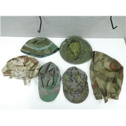 ASSORTED HATS & HELMET COVERS