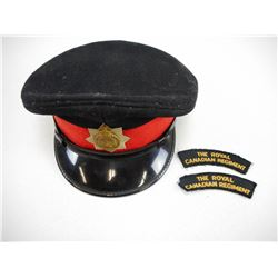 ROYAL CANADIAN REGIMENT OFFICERS CAP