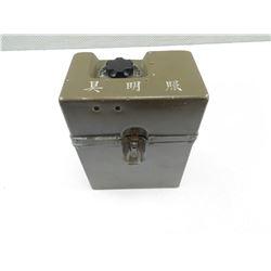 WWII ELECTRICAL TIN