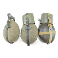 ASSORTED MILITARY CANTEENS