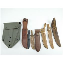 ASSORTED SHEATHS & COVERS