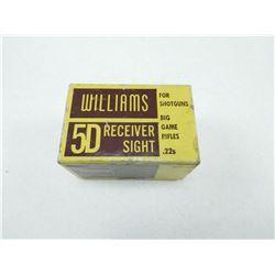 WILLIAMS RECEIVER SIGHT