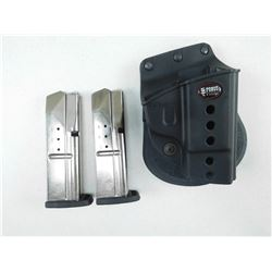 S&W 9MM MAGAZINE & FOBUS HOLSTER