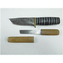 ASSORTED HUNTING/BELT KNIVES