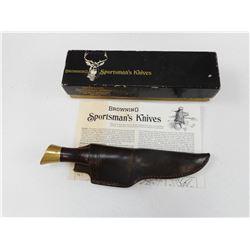 BROWNING SPORTSMAN'S KNIFE