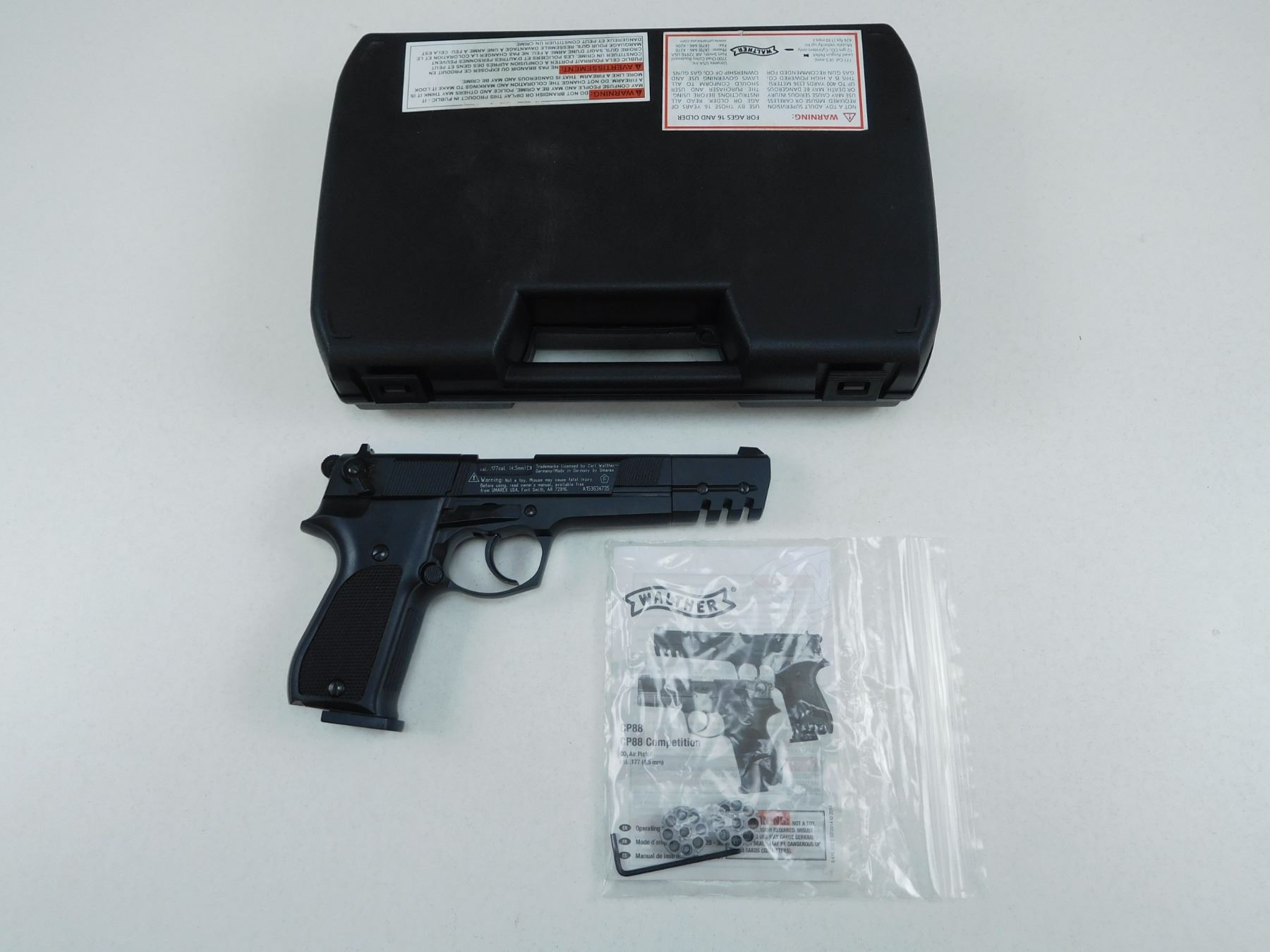 WALTHERS CP88 COMPETITION CO2 AIR PISTOL