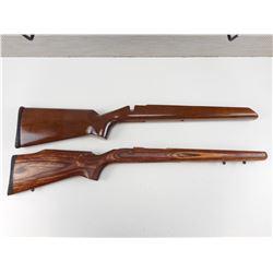 ASSORTED SAVAGE GUN STOCKS