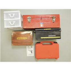 ASSORTED TOOL BOXES/ CONTAINERS