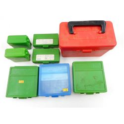 ASSORTED AMMO CASES
