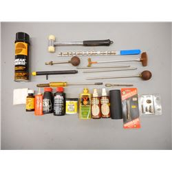 ASSORTED CLEANING/RELOADING SUPPLIES