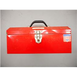 TOOL BOX OF CLEANING SUPPLIES