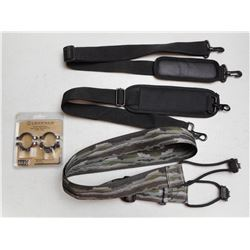 RIFLE SLINGS AND LEUPOLD SCOPE RINGS