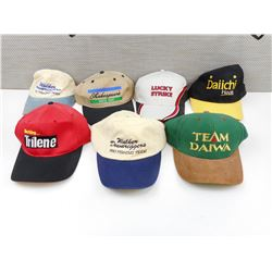 ASSORTED FISHING BASEBALL HATS