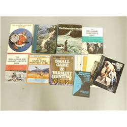 ASSORTED HUNTING/FISHING BOOKS