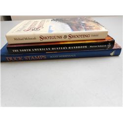ASSORTED HUNTING/ OUTDOORS BOOKS