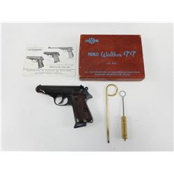 WALTHER/MANURIN , MODEL: PP , CALIBER: 7.65MM