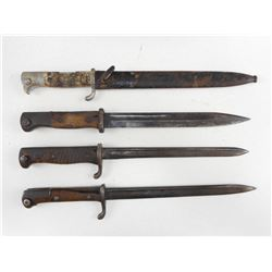 ASSORTED GERMAN BAYONETS