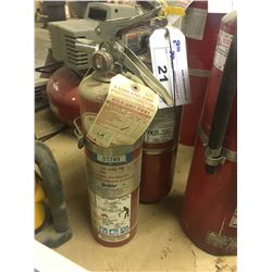 10 AND 6 LB ABC FIRE EXTINGUISHERS